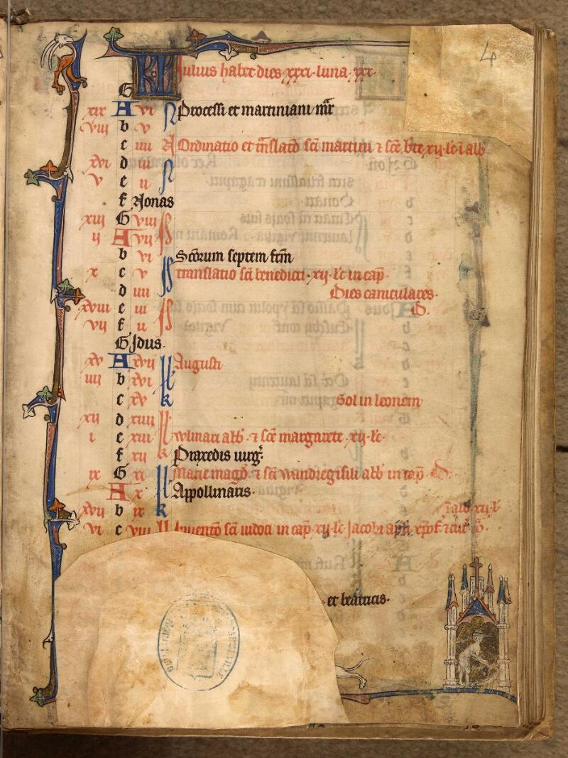 Abbeville, Bibl. mun., ms. 0003, f. 004 - vue 1