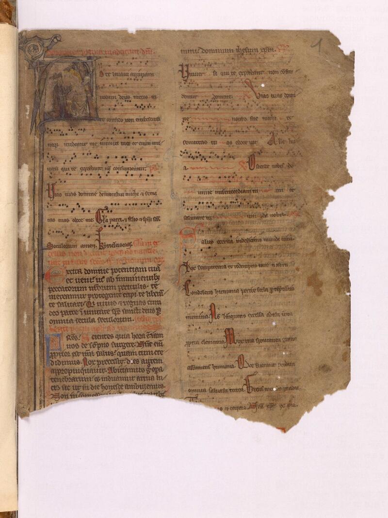 Abbeville, Bibl. mun., ms. 0007, f. 001 - vue 1