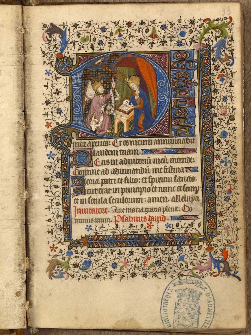 Abbeville, Bibl. mun., ms. 0013, f. 033 - vue 1