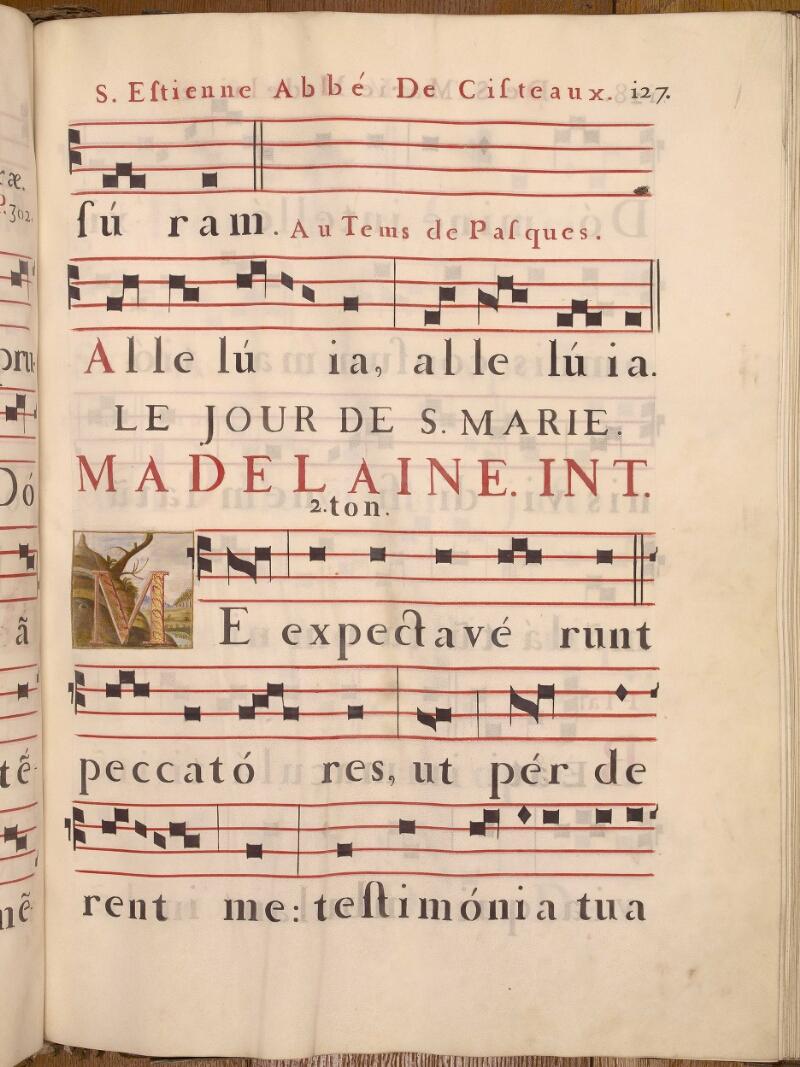 Abbeville, Bibl. mun., ms. 0021, p. 127 - vue 1
