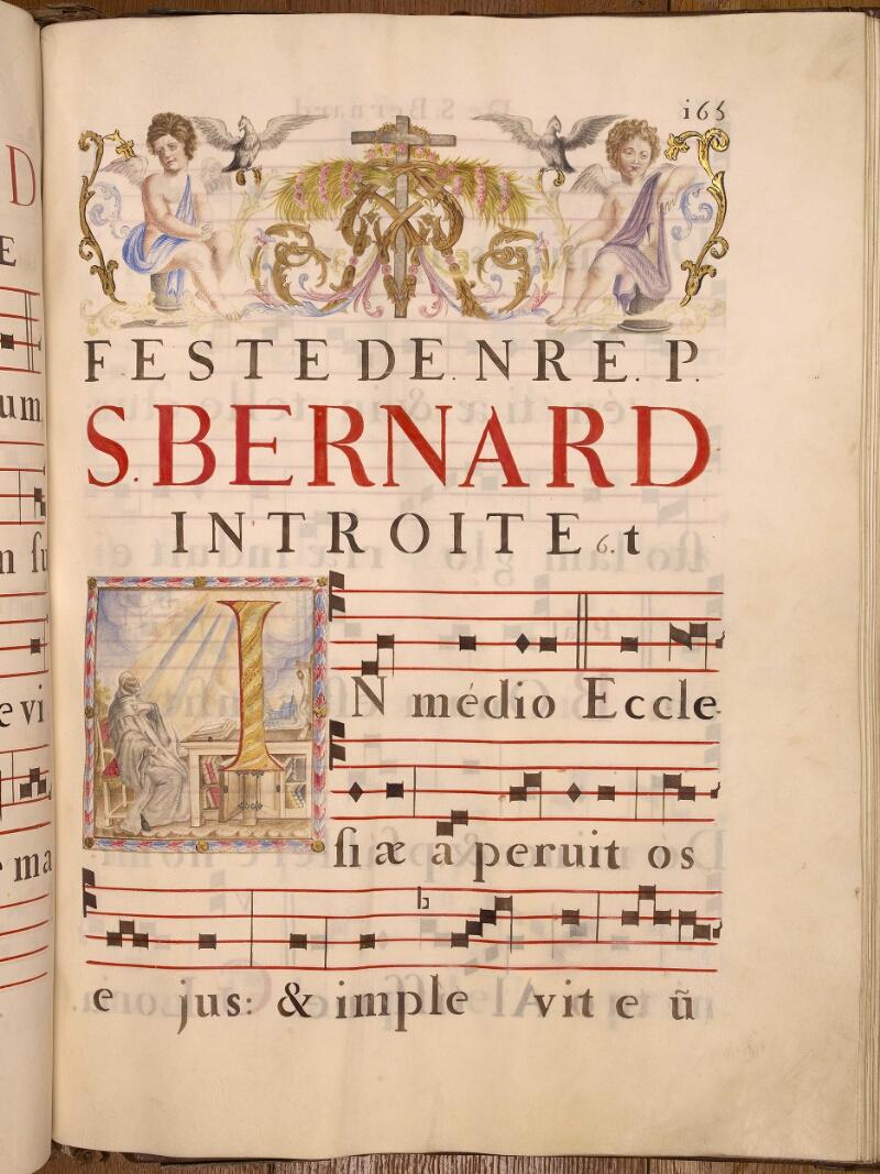 Abbeville, Bibl. mun., ms. 0021, p. 165 - vue 1