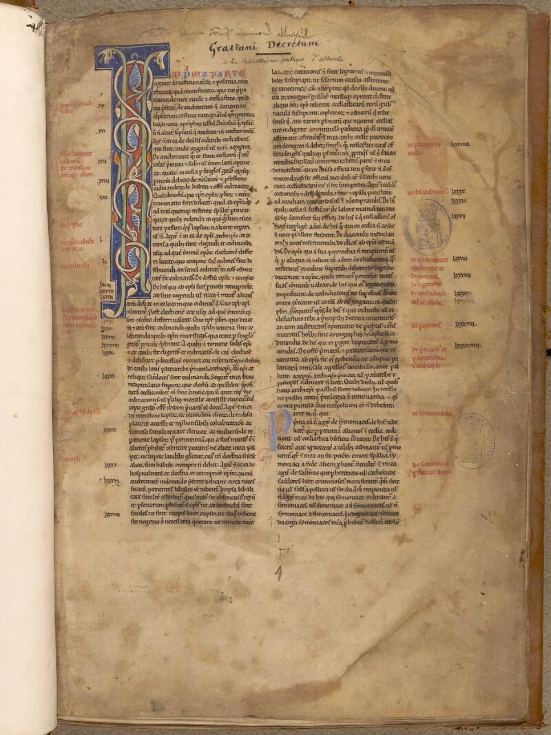 Abbeville, Bibl. mun., ms. 0033, f. 001 - vue 2