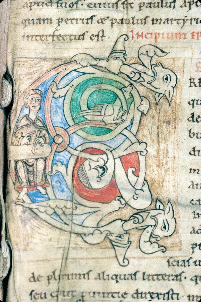 Alençon, Bibl. mun., ms. 0003, f. 001 - vue 2