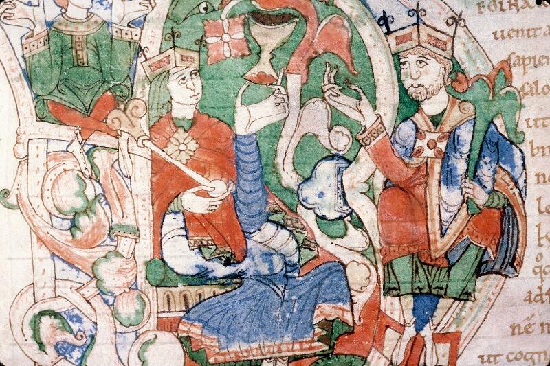 Alençon, Bibl. mun., ms. 0011, f. 001v - vue 2