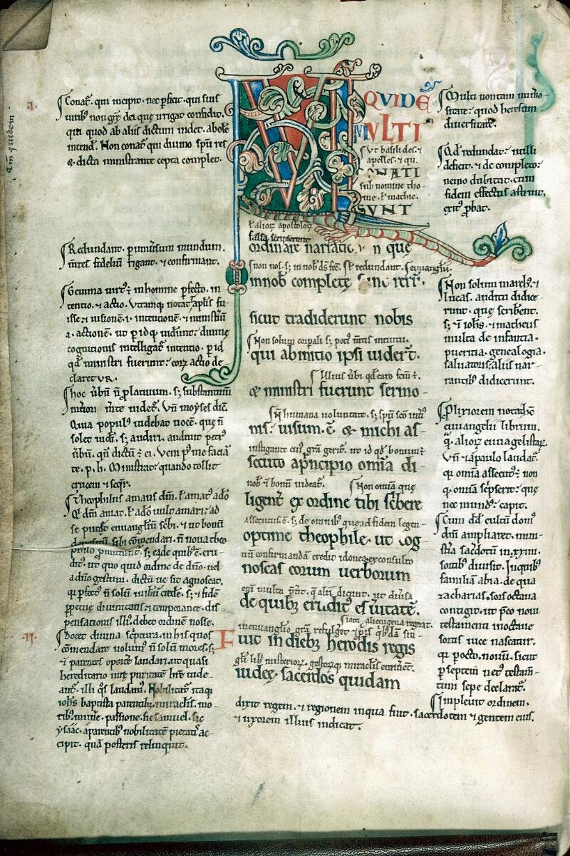 Alençon, Bibl. mun., ms. 0090, f. 001v