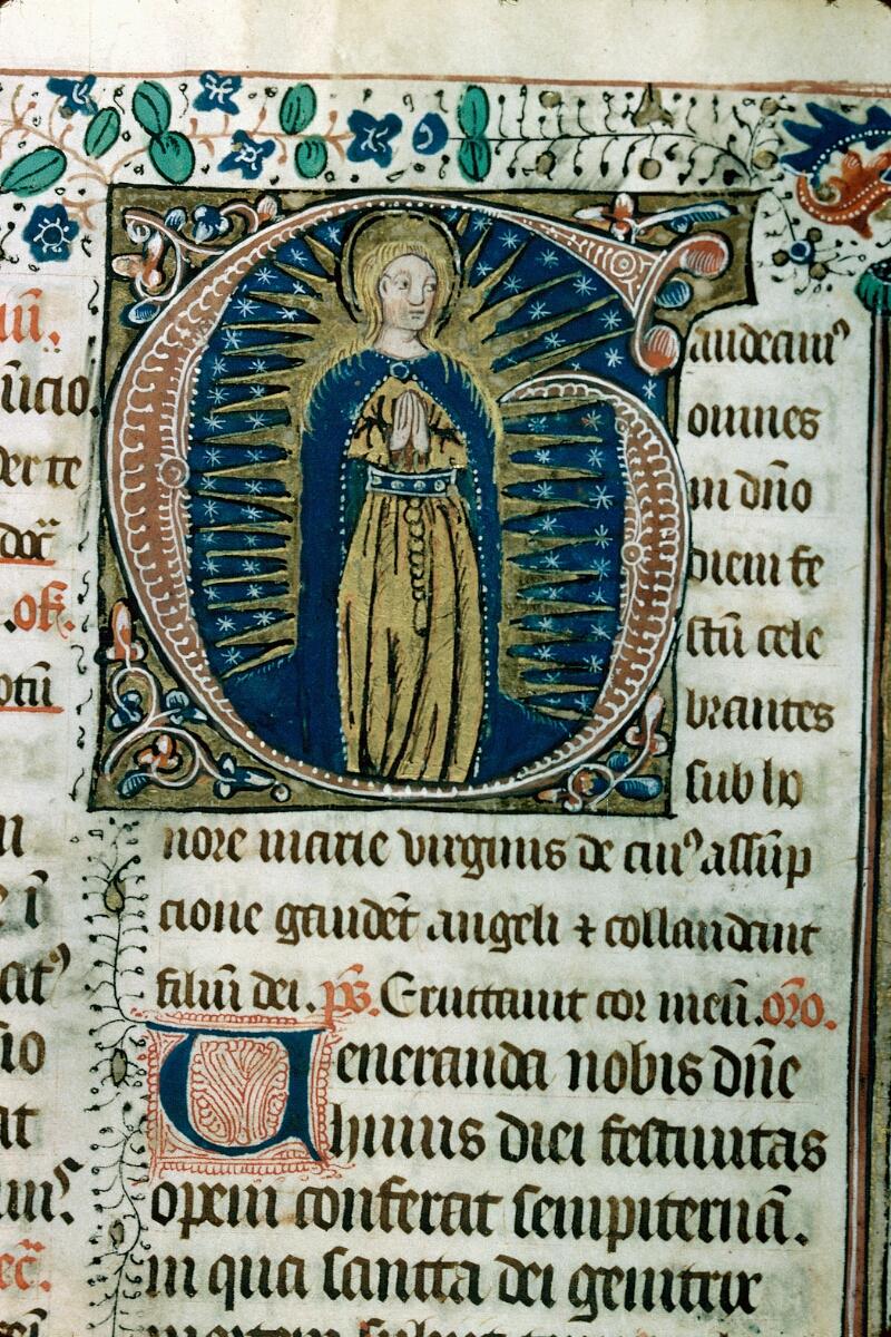 Alençon, Bibl. mun., ms. 0125, f. 216 - vue 2