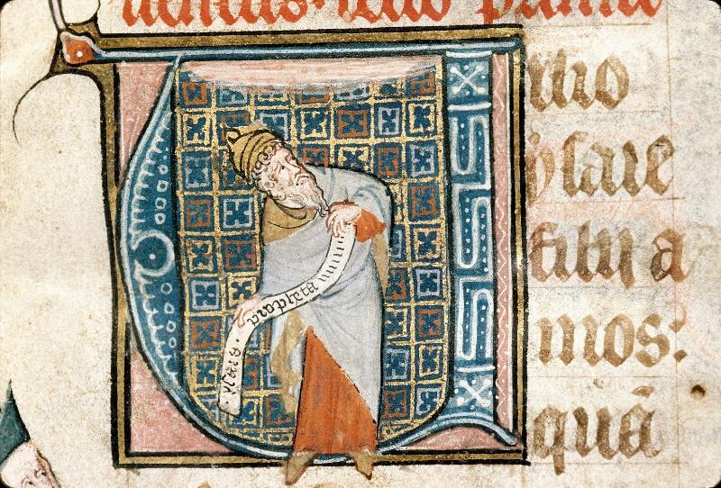 Alençon, Bibl. mun., ms. 0128, f. 001 - vue 3