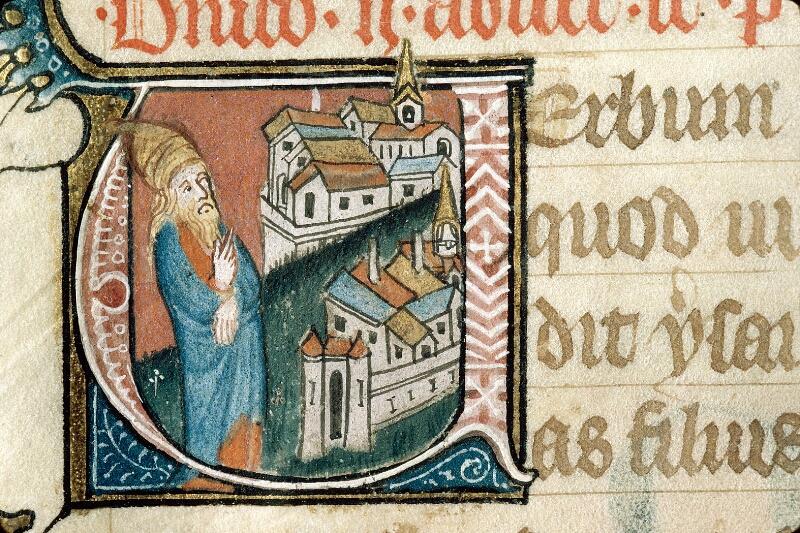 Alençon, Bibl. mun., ms. 0128, f. 003v - vue 2