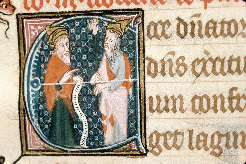 Alençon, Bibl. mun., ms. 0128, f. 006 - vue 2