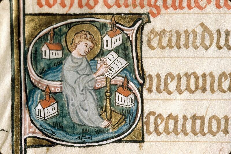Alençon, Bibl. mun., ms. 0128, f. 021v - vue 2