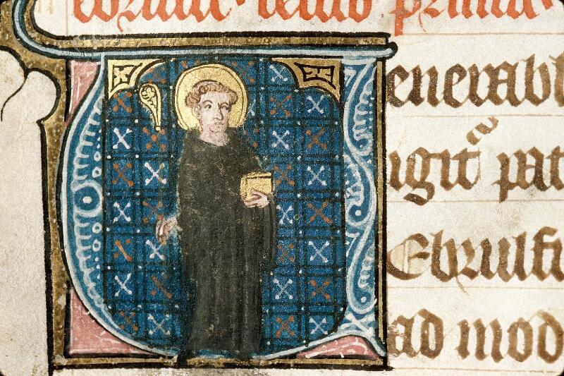Alençon, Bibl. mun., ms. 0128, f. 026v - vue 2