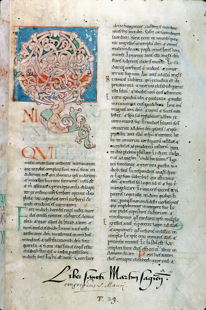 Alençon, Bibl. mun., ms. 0639, f. 002 - vue 1