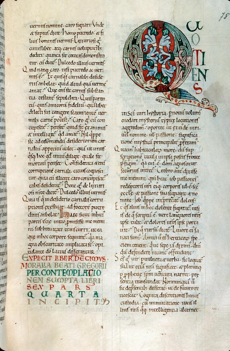 Alençon, Bibl. mun., ms. 0648, f. 078 - vue 1