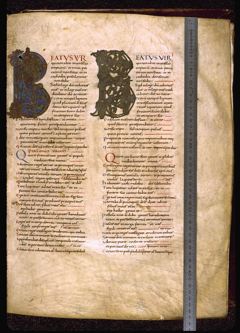 Angers, Bibl. mun., ms. 0004, f. 014 - vue 1