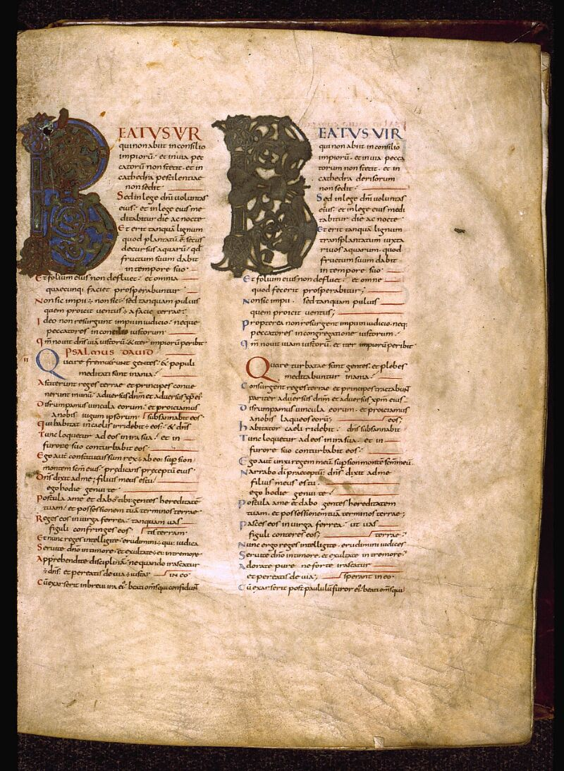 Angers, Bibl. mun., ms. 0004, f. 014 - vue 2