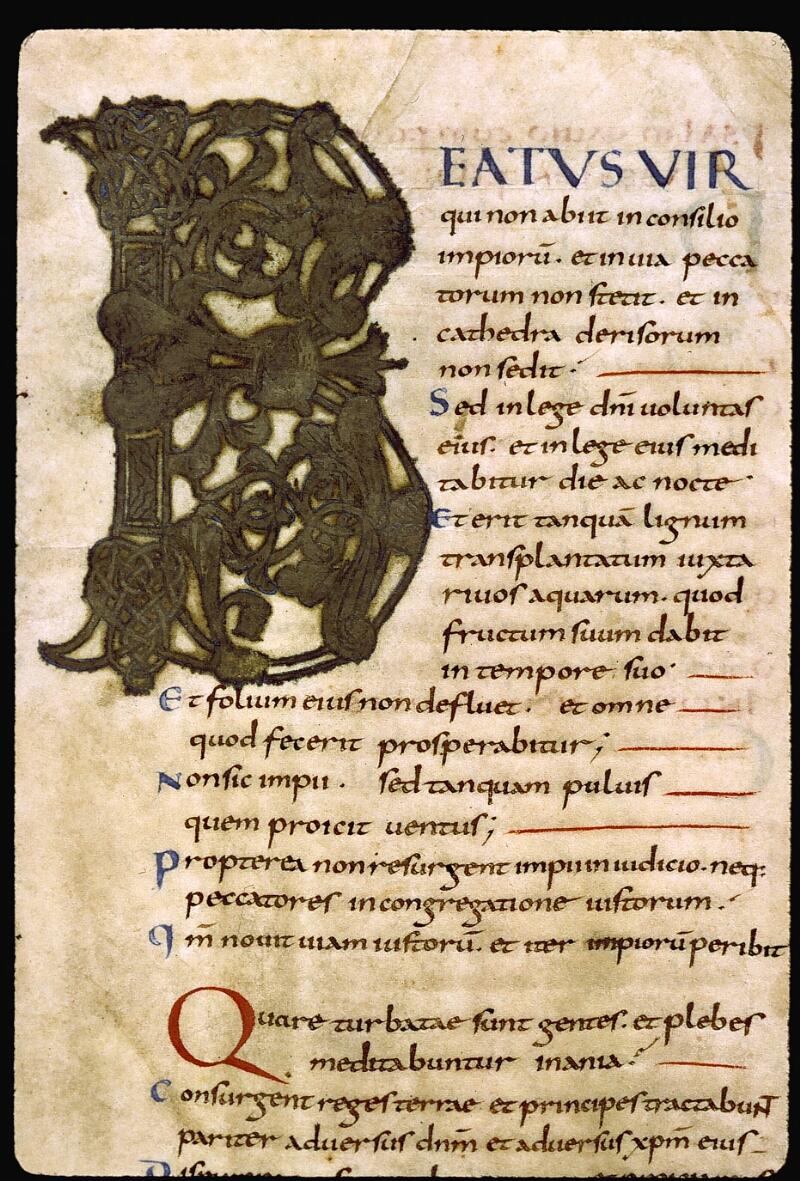 Angers, Bibl. mun., ms. 0004, f. 014 - vue 3