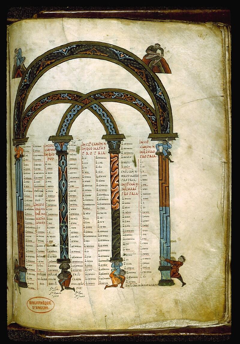Angers, Bibl. mun., ms. 0004, f. 207 - vue 1