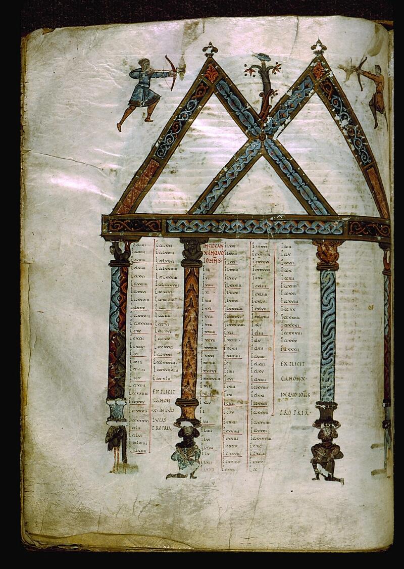 Angers, Bibl. mun., ms. 0004, f. 207v - vue 1