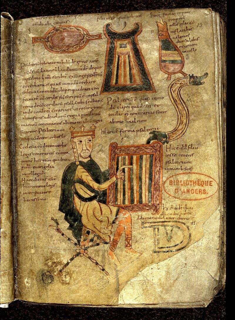 Angers, Bibl. mun., ms. 0018, f. 013 - vue 2