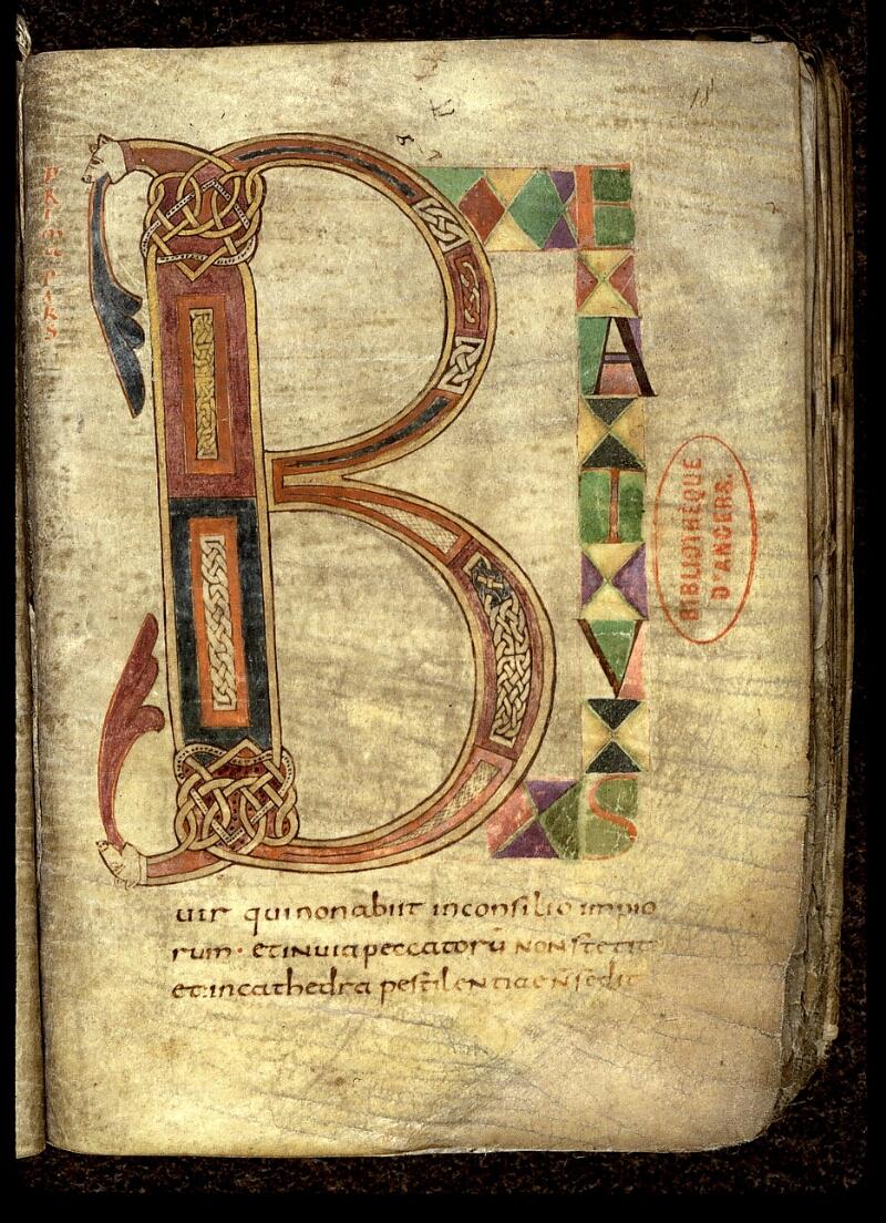 Angers, Bibl. mun., ms. 0018, f. 018