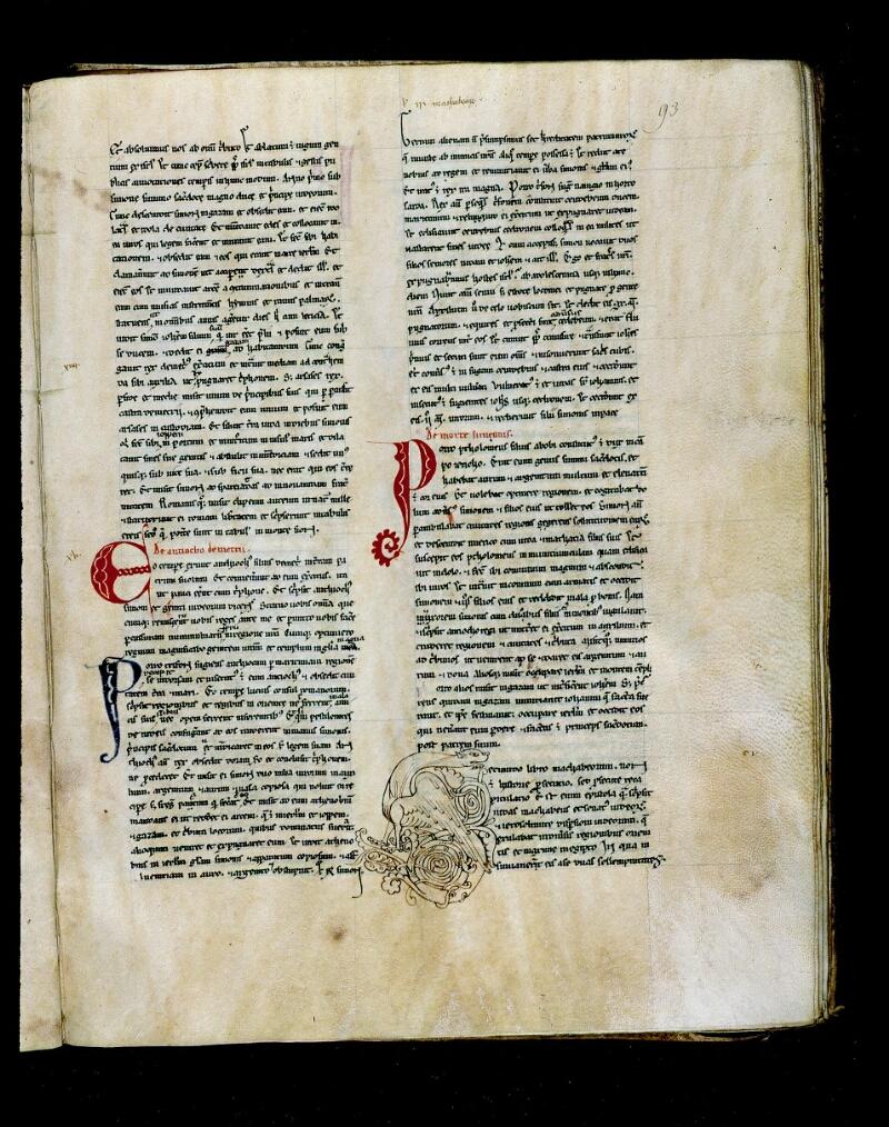 Angers, Bibl. mun., ms. 0027, f. 093 - vue 1