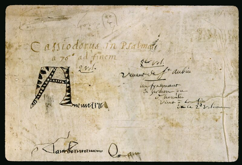 Angers, Bibl. mun., ms. 0044, f. 000I v