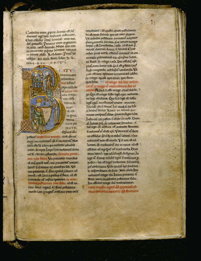 Angers, Bibl. mun., ms. 0047, f. 003 - vue 1