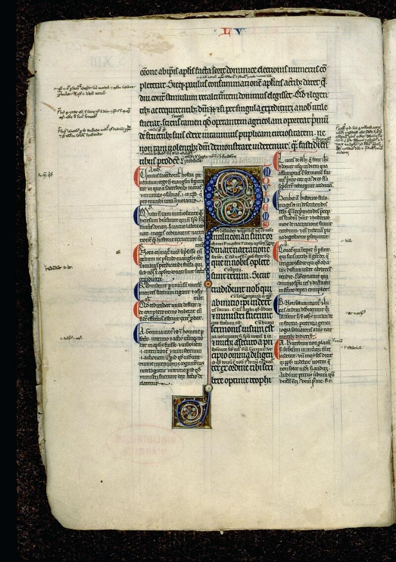 Angers, Bibl. mun., ms. 0062, f. 001v