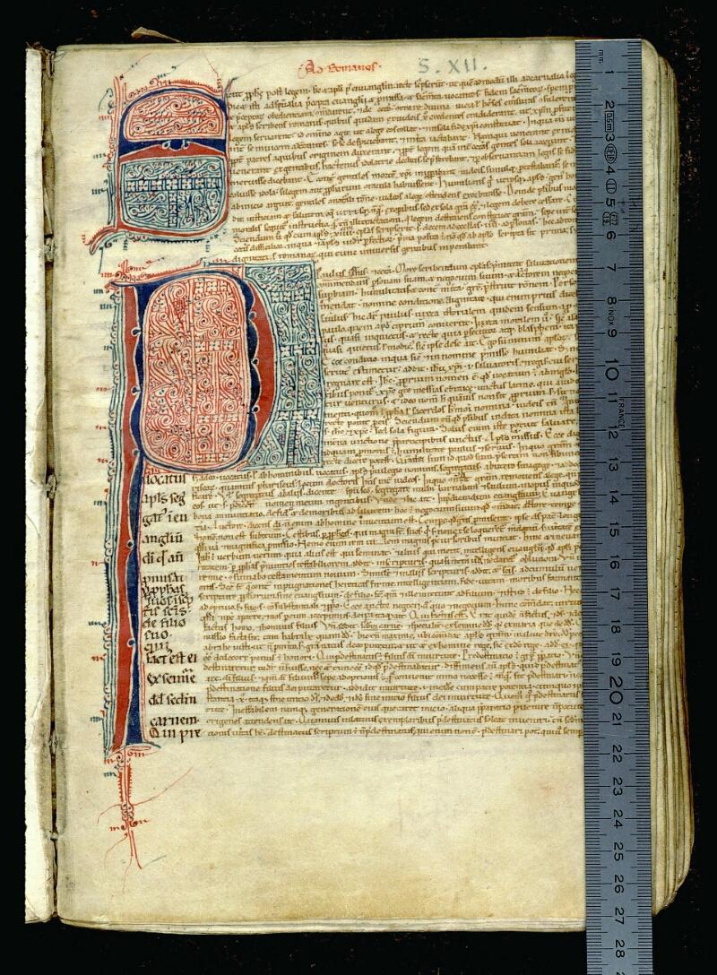 Angers, Bibl. mun., ms. 0068, f. 027 - vue 1