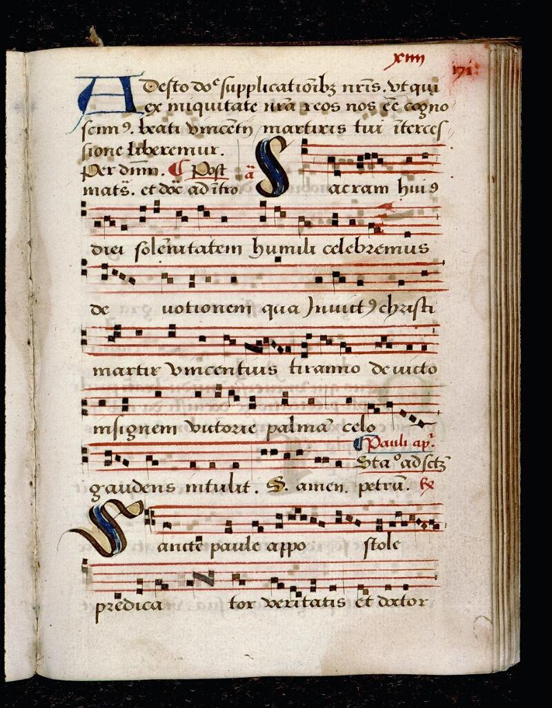 Angers, Bibl. mun., ms. 0081, p. 171