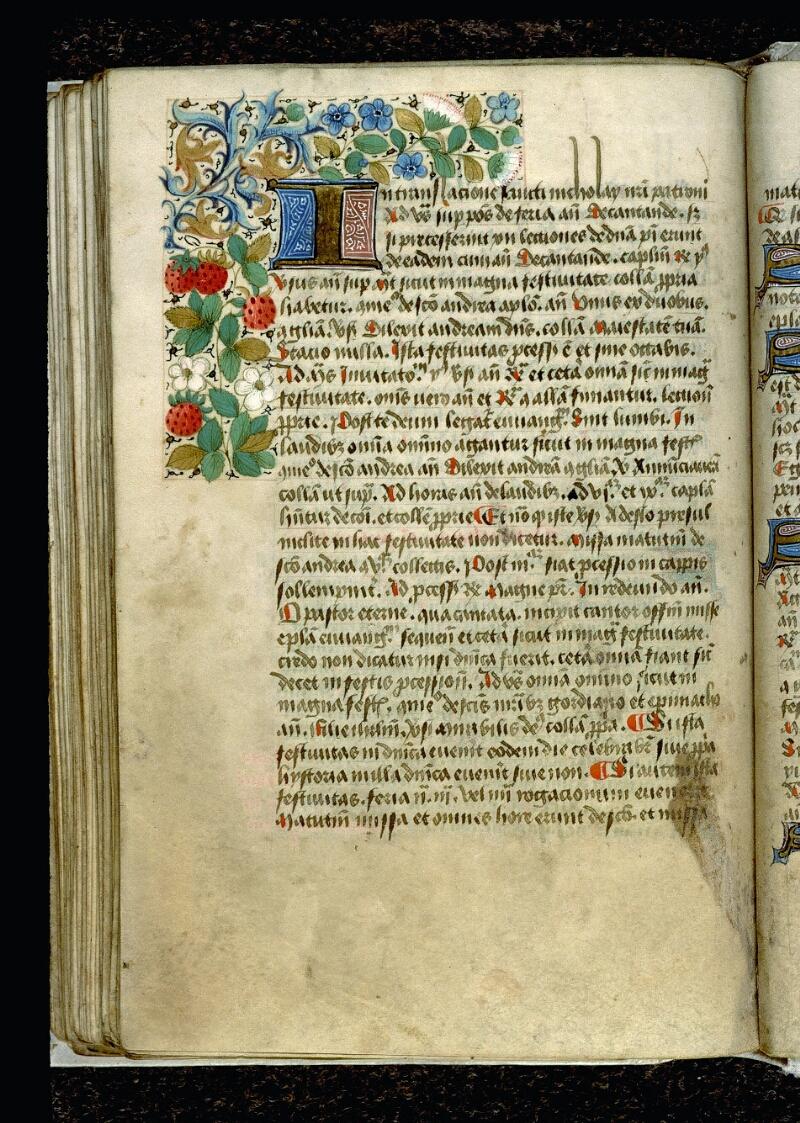 Angers, Bibl. mun., ms. 0089, f. 105v - vue 1