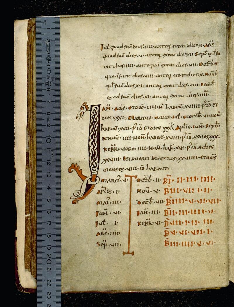 Angers, Bibl. mun., ms. 0091, f. 010v - vue 1