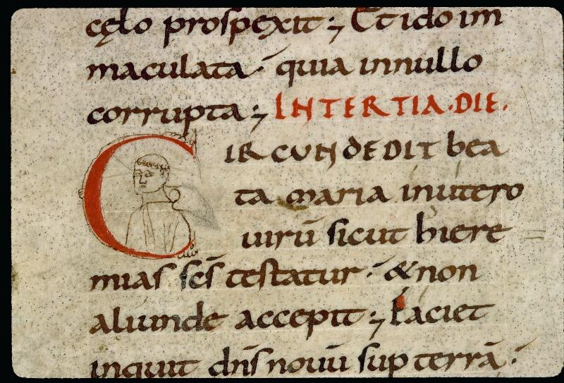Angers, Bibl. mun., ms. 0121, f. 107v - vue 2