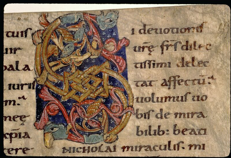 Angers, Bibl. mun., ms. 0121, f. 157 - vue 2