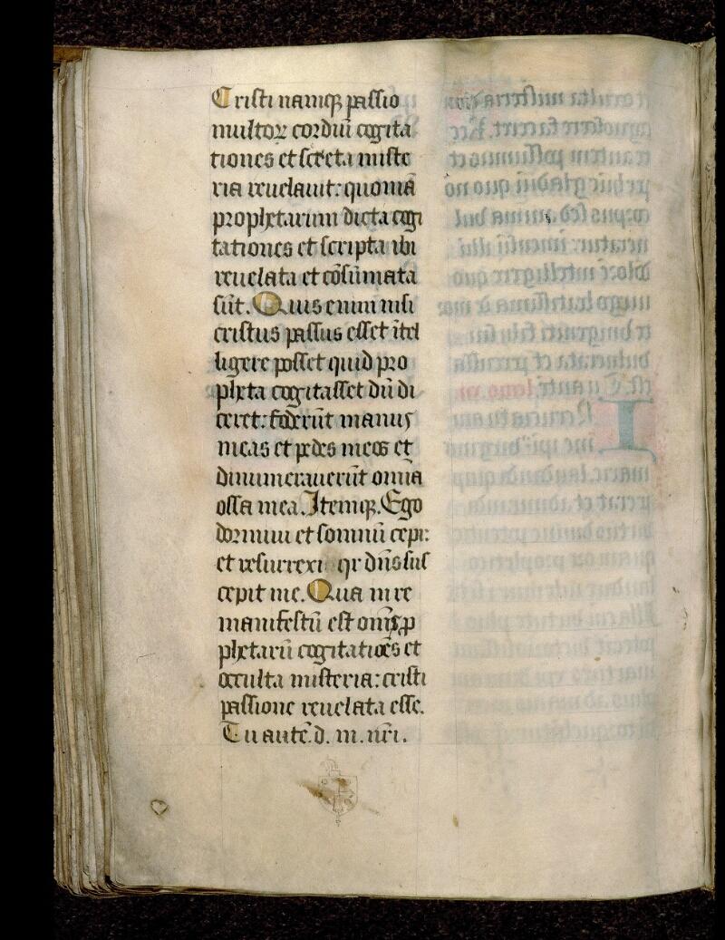 Angers, Bibl. mun., ms. 0121, f. 268v - vue 1