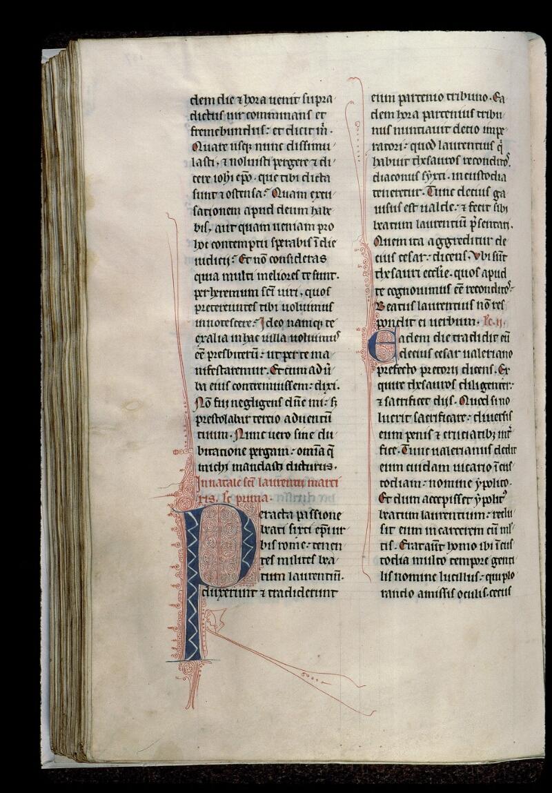 Angers, Bibl. mun., ms. 0123, f. 137v - vue 1