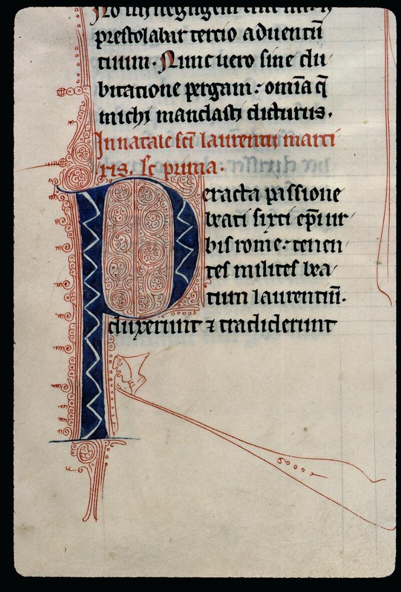Angers, Bibl. mun., ms. 0123, f. 137v - vue 2