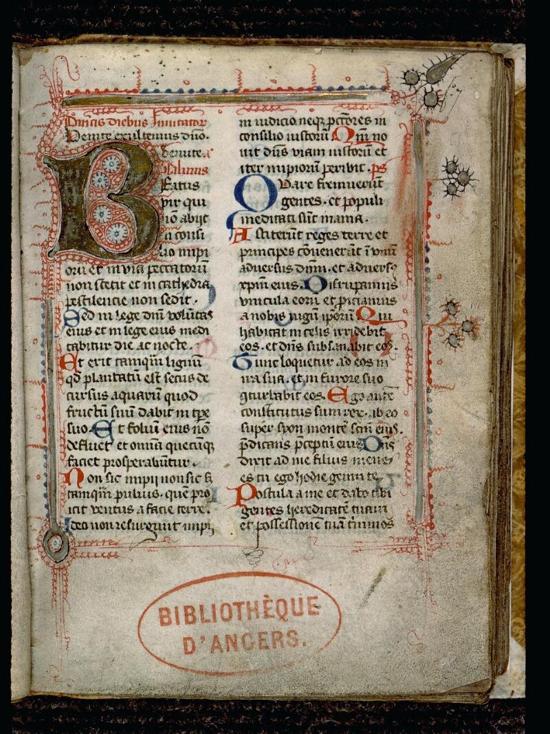 Angers, Bibl. mun., ms. 0125, f. 007