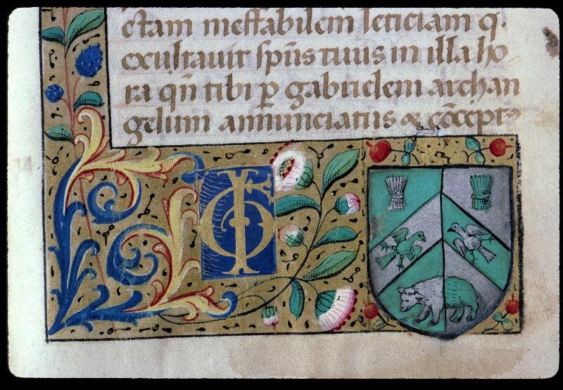 Angers, Bibl. mun., ms. 0130, f. 203 - vue 2