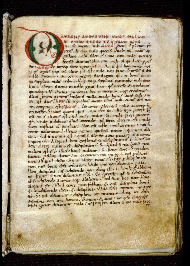 Angers, Bibl. mun., ms. 0159, f. 004 - vue 2