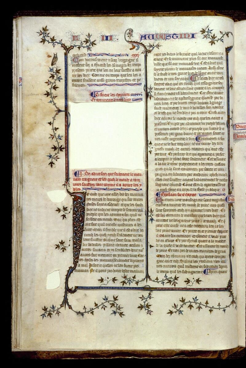 Angers, Bibl. mun., ms. 0162, f. 061v - vue 1