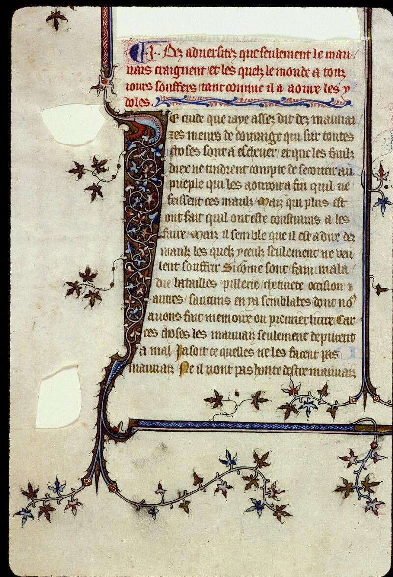 Angers, Bibl. mun., ms. 0162, f. 061v - vue 2