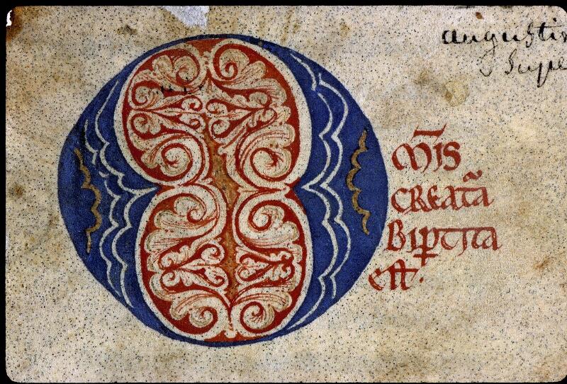 Angers, Bibl. mun., ms. 0168, f. 001 - vue 3