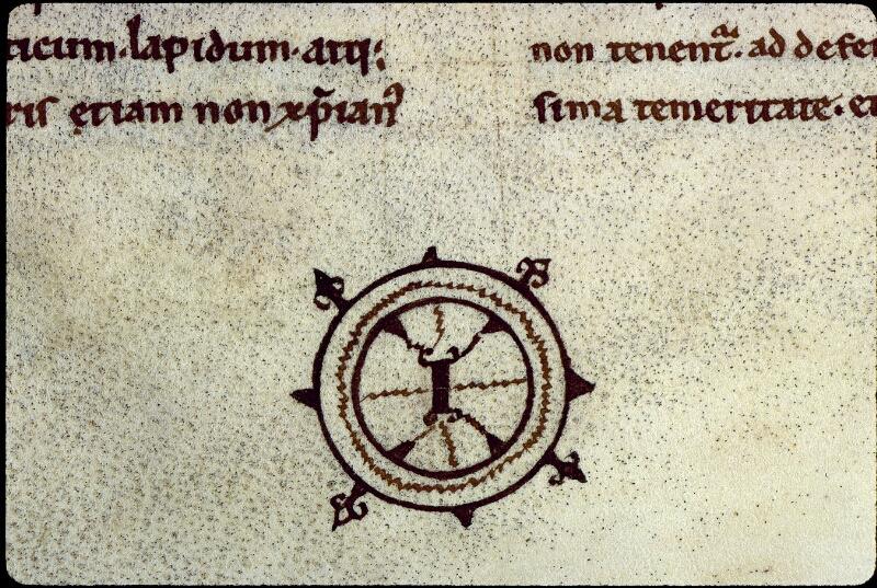 Angers, Bibl. mun., ms. 0168, f. 008v - vue 2
