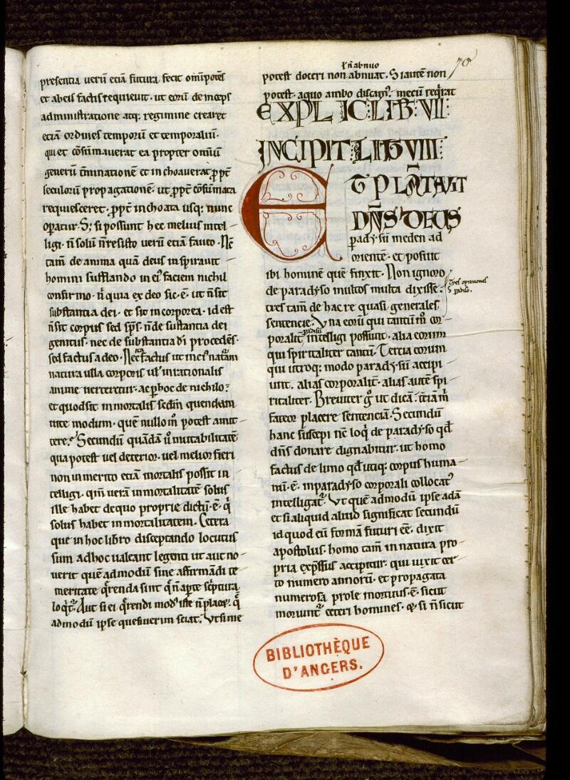 Angers, Bibl. mun., ms. 0168, f. 070