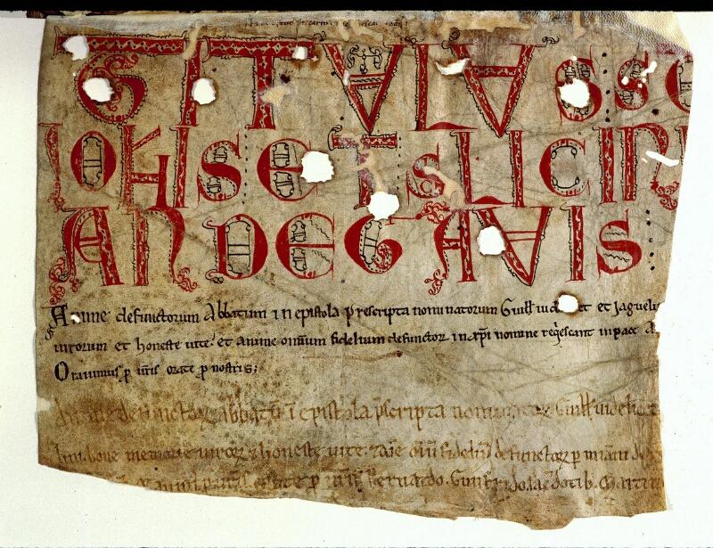 Angers, Bibl. mun., ms. 0168, f. 122v - vue 2