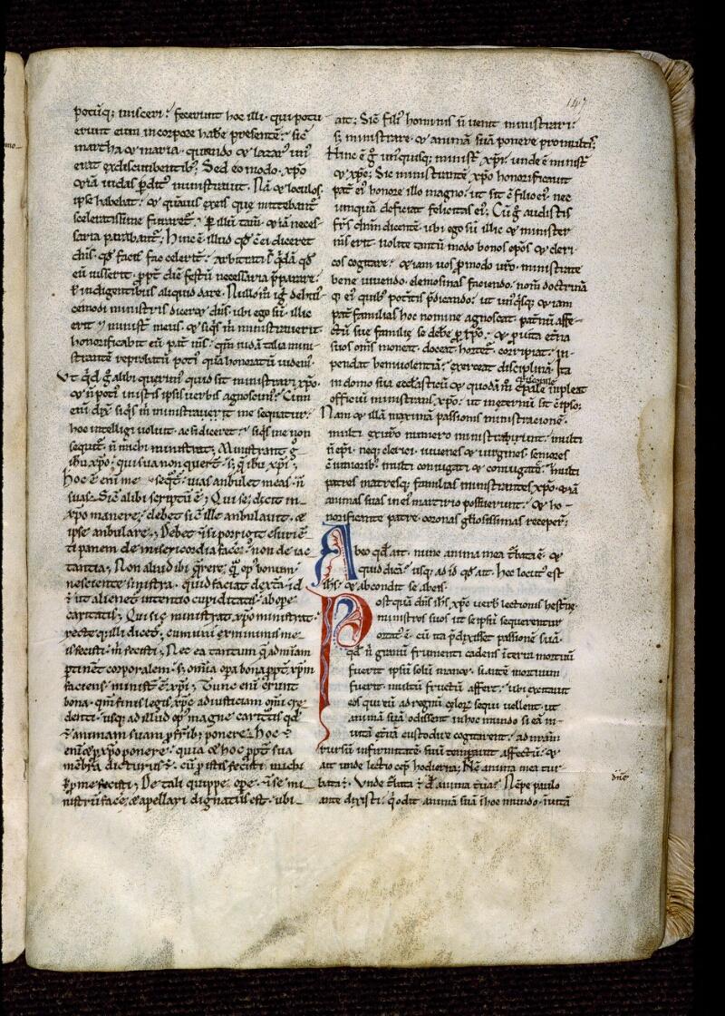 Angers, Bibl. mun., ms. 0177, f. 147 - vue 1