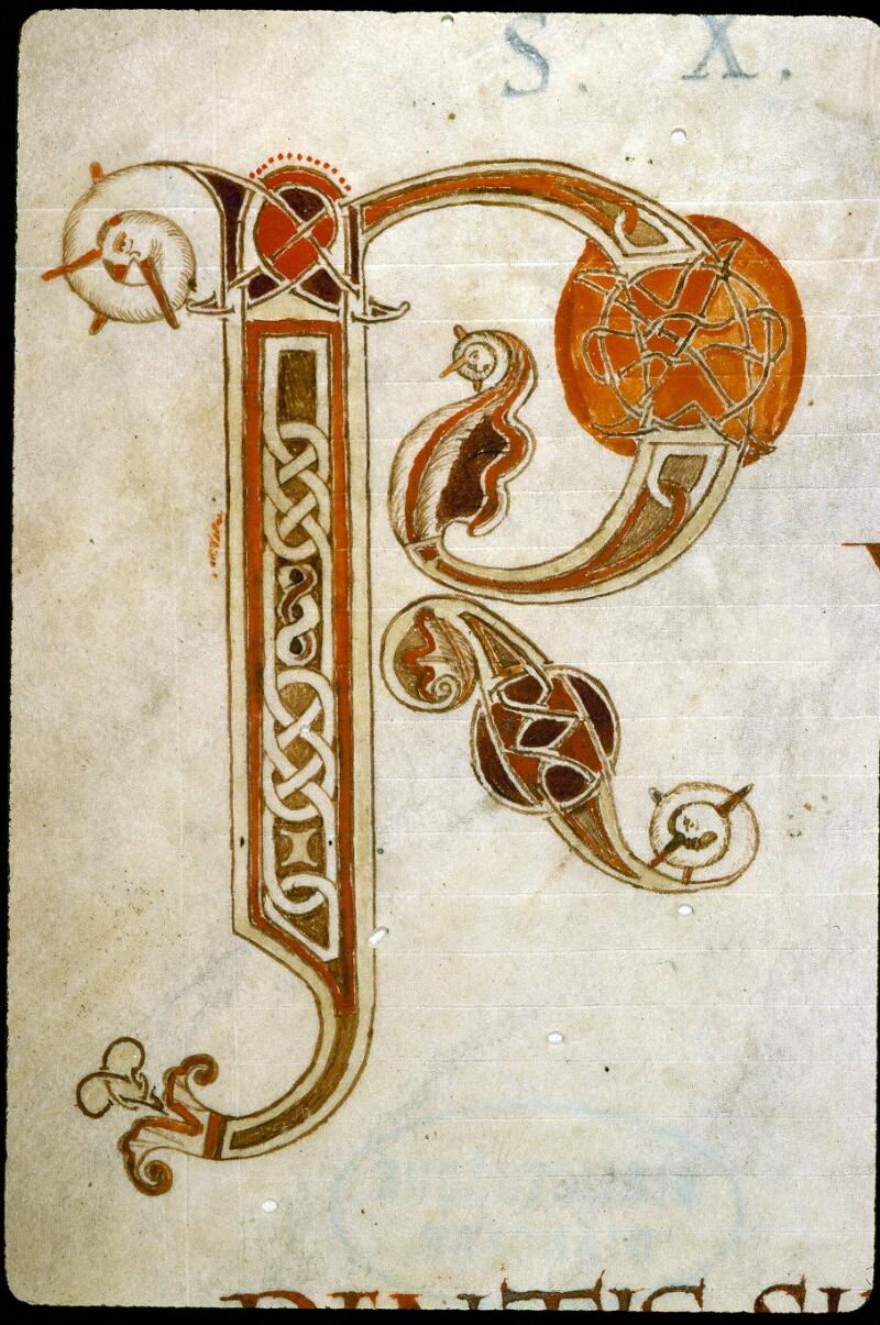 Angers, Bibl. mun., ms. 0183, f. 001v - vue 3