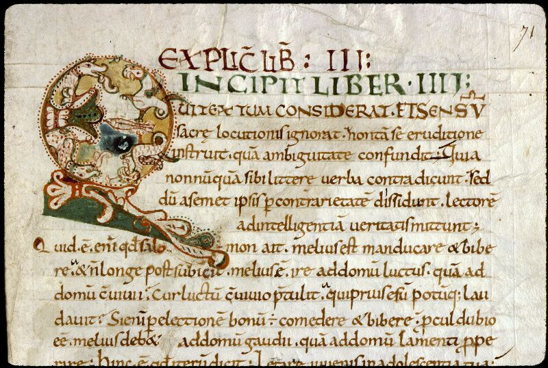Angers, Bibl. mun., ms. 0183, f. 071 - vue 1