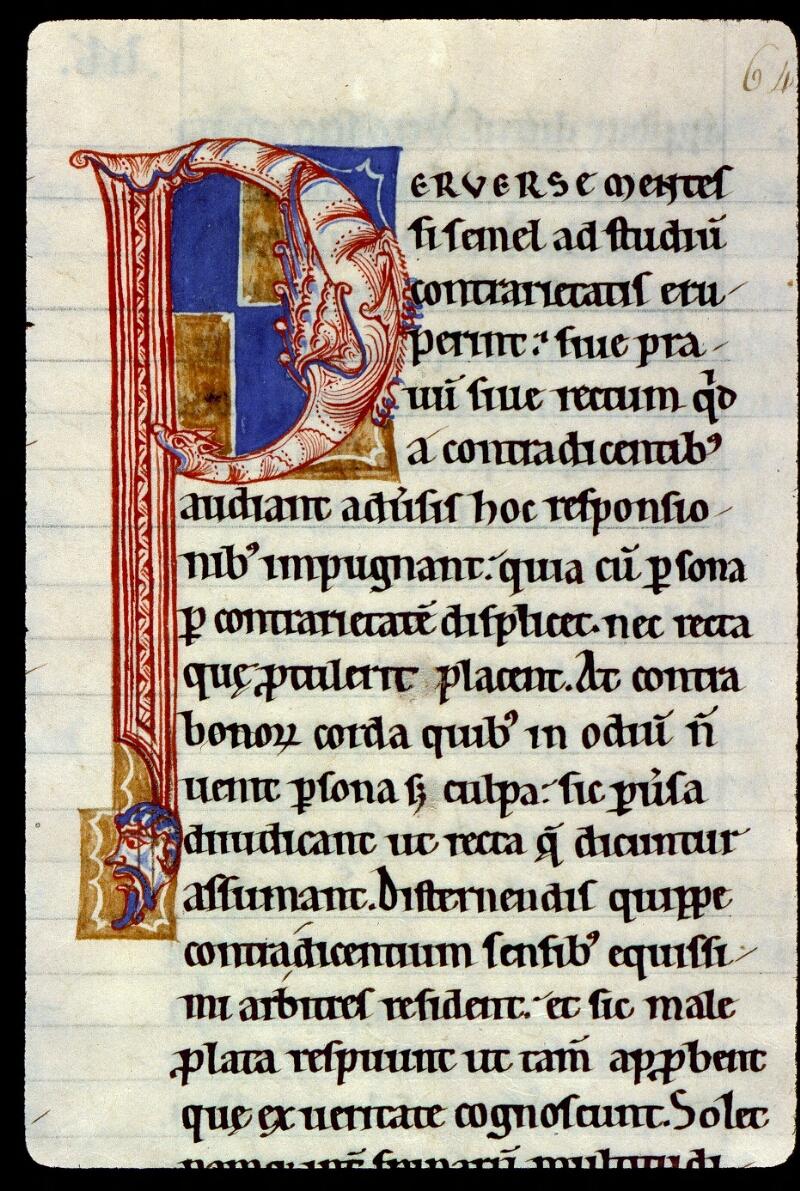 Angers, Bibl. mun., ms. 0184, f. 064 - vue 1